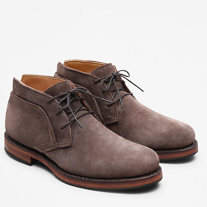 American Craft Chukka Boot for Men in Dark Brown-