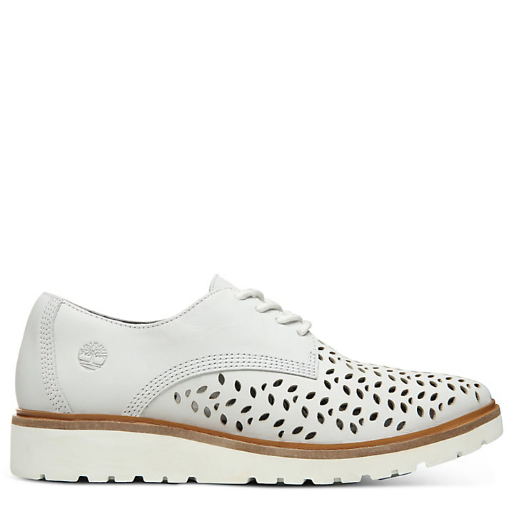 Ellis Street Perforated Oxford for Women in White-