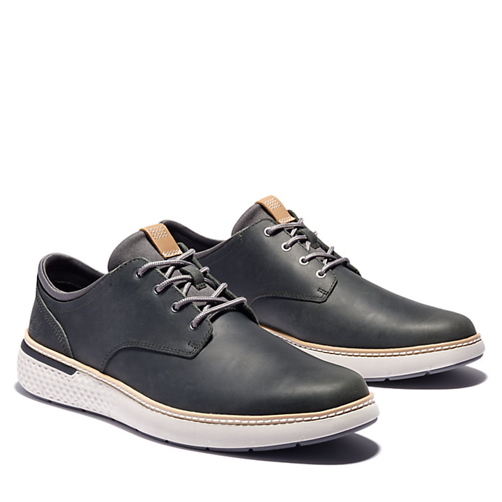 Cross Mark Oxford for Men in Dark Green-