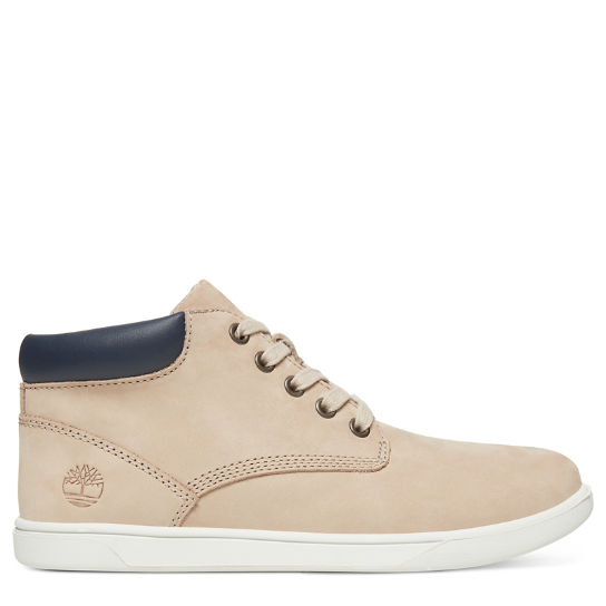 Junior Groveton Leather Chukka Boot Beige | Timberland
