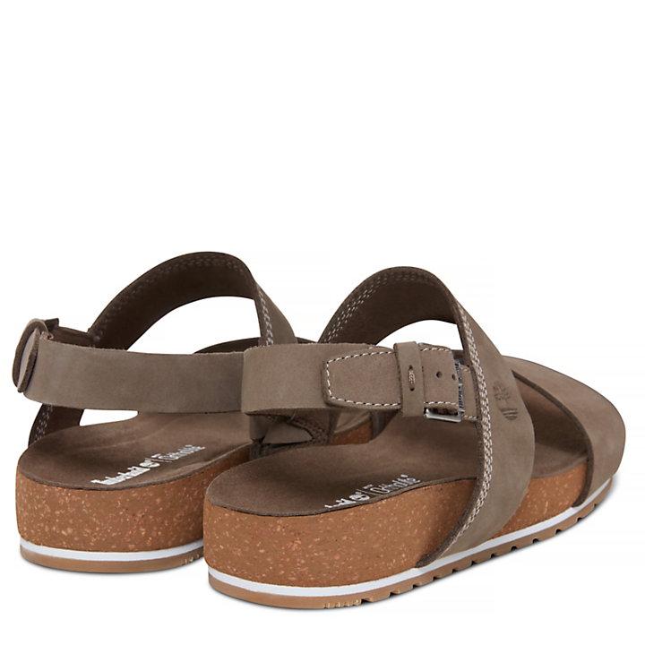 Women's Malibu Waves Two Strap Sandal Grey-