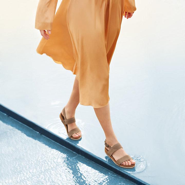 Malibu Waves Two Strap Sandal Grigio Donna-