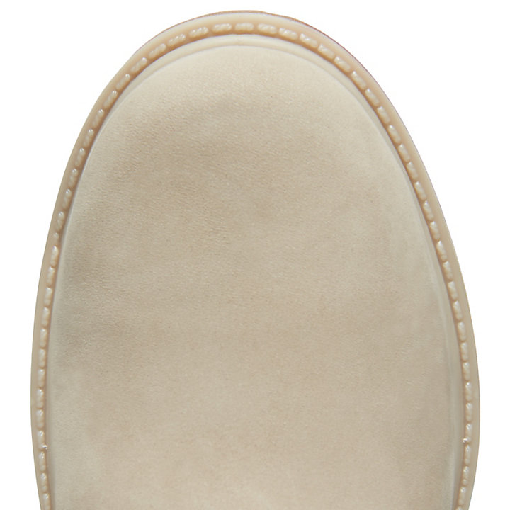 Icon 6 Inch Premium Boot for Women in Beige-