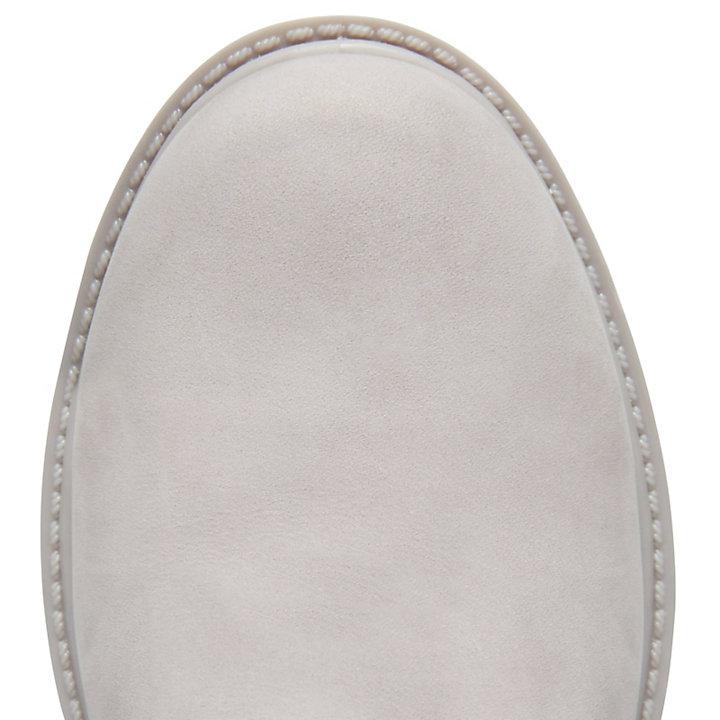 Icon 6-inch Premium Boot voor Dames in Bleekgrijs-