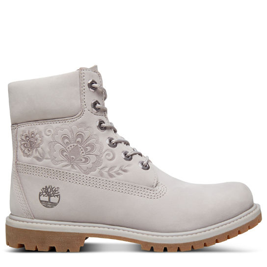 Icon 6 Inch Premium Boot for Women in Pale Grey | Timberland