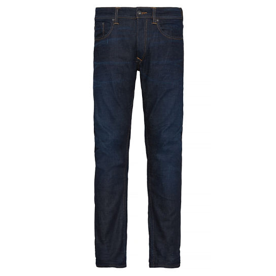 Men's Profile Lake Jeans Dark Blue | Timberland