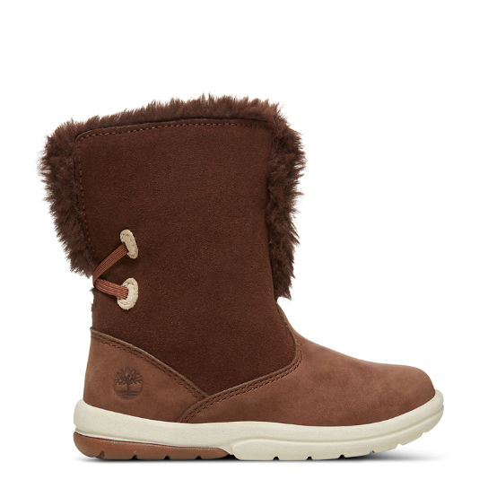 Toddle Tracks Bootie for Toddler in Brown | Timberland