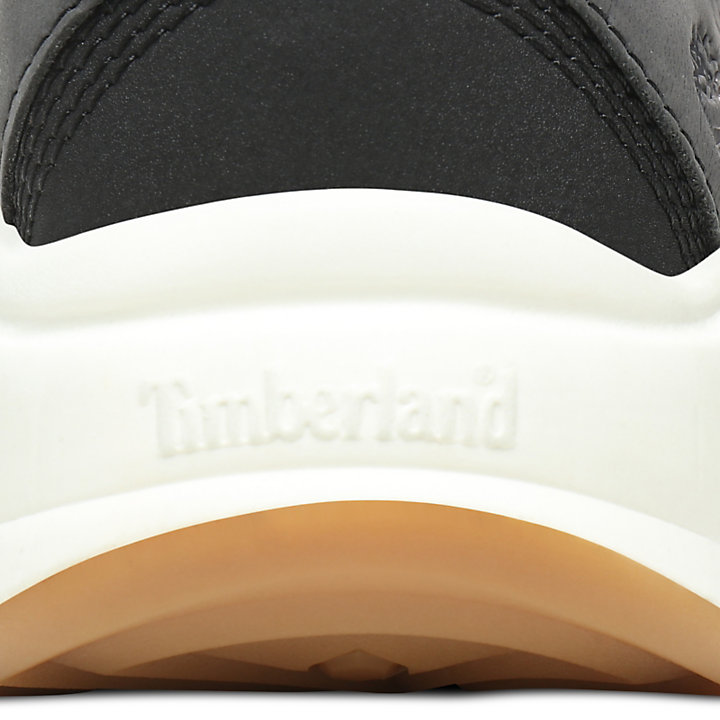 Delphiville Ledersneaker für Damen in Schwarz-