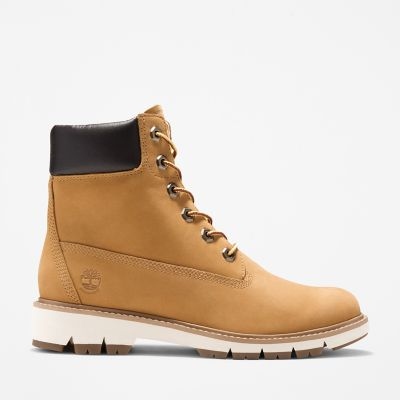 Lucia+Way+6+Inch+Boot+for+Women+in+Yellow