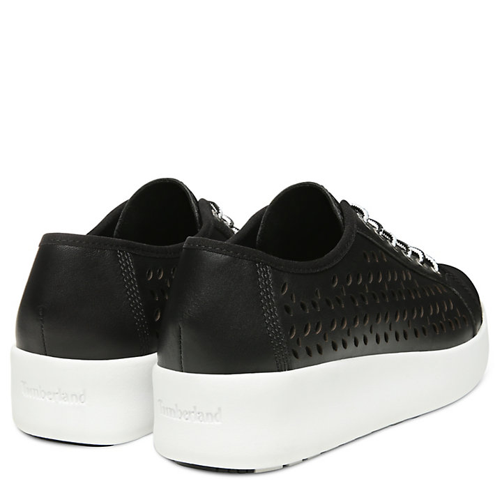 Berlin Park Perforated Oxford for Women in Black-