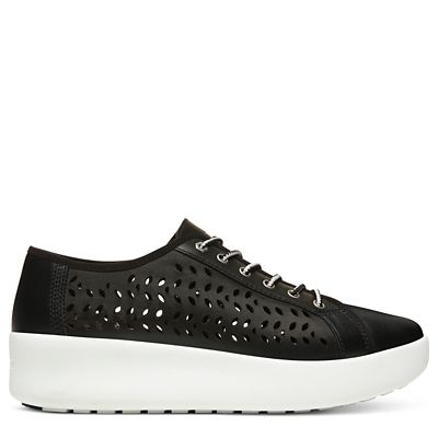 Berlin+Park+Perforated+Oxford+for+Women+in+Black