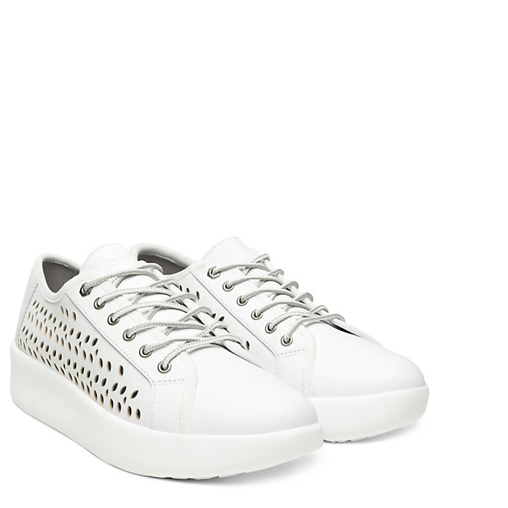 Berlin Park Perforated Oxford for Women in White-