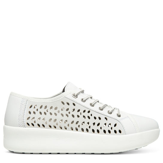 Berlin Park Perforated Oxford for Women in White | Timberland