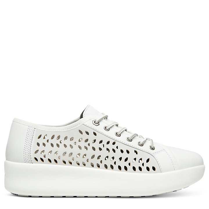 Berlin Park Perforated Oxford for Women in White