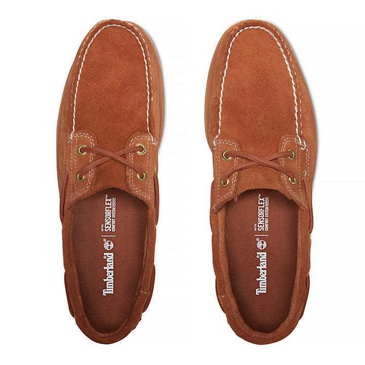 Men's Tidelands 2-Eye Suede Boat Shoe-