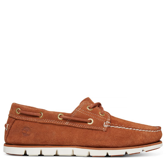 Men's Tidelands 2-Eye Suede Boat Shoe | Timberland