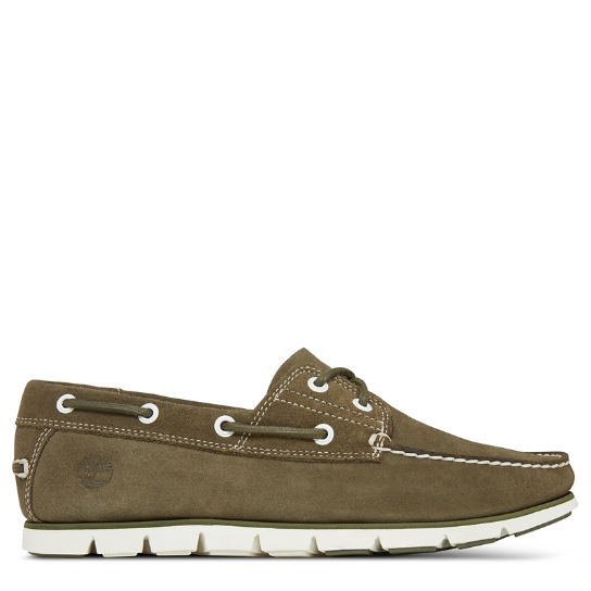 Tidelands 2-Eye Suede Chaussure bateau Homme | Timberland