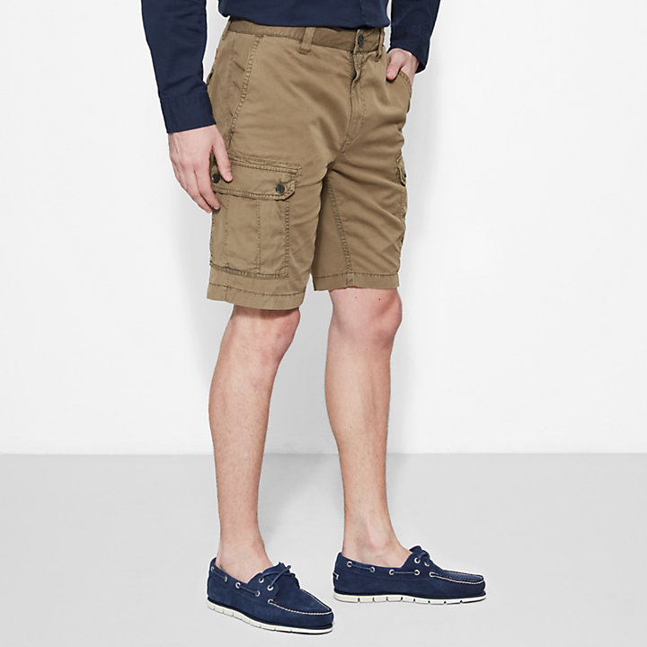 Webster Lake Cargo Shorts Caqui Hombre-