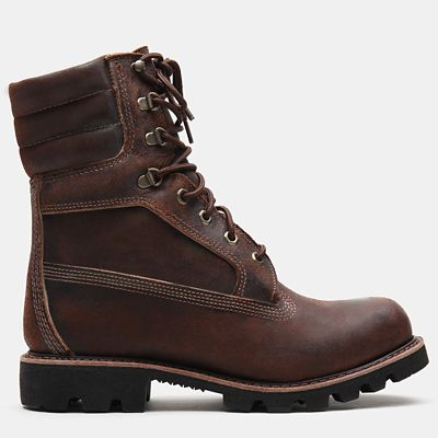 American+Craft+8+Inch+Boot+voor+Heren+in+donkerbruin