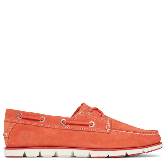 Tidelands 2-Eye Boat Shoe Suede Heren | Timberland