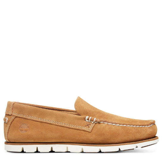 Men's Tidelands Suede Venetian Boat Shoes | Timberland