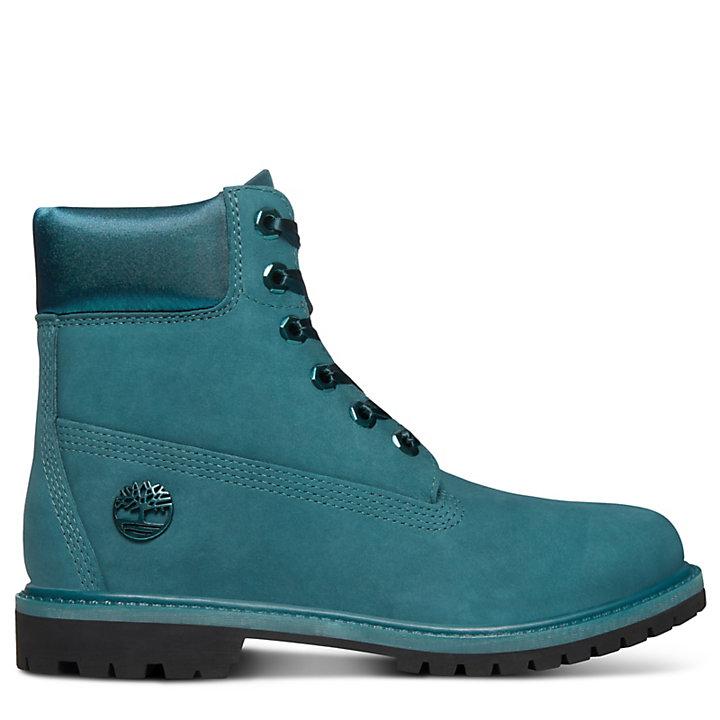 info for 78b76 4bdea Premium Velvet 6 Inch Boot for Women in Blue-