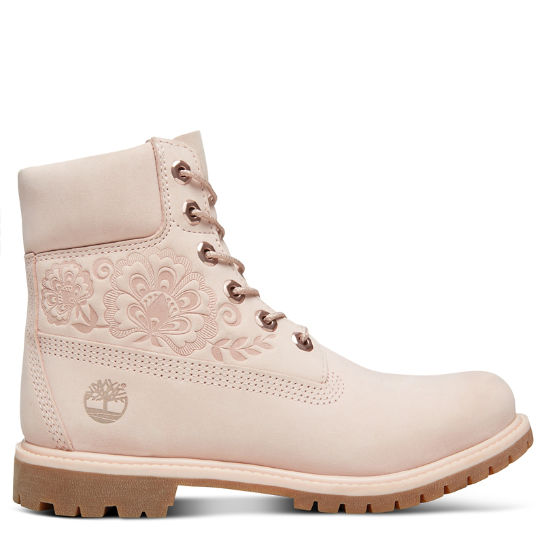 Icon 6 Inch Premium Boot for Women in Pale Pink | Timberland