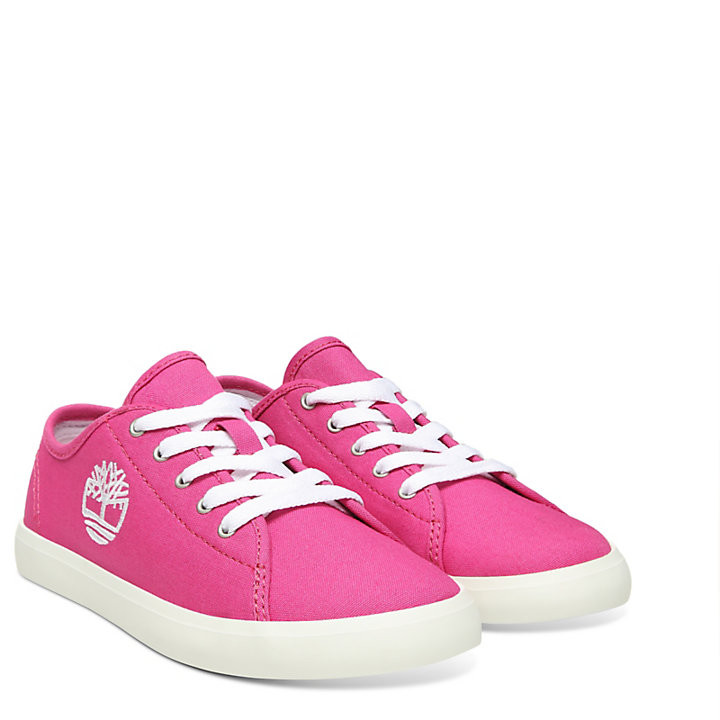 Newport Bay Canvas Oxford voor Kids in Roze-