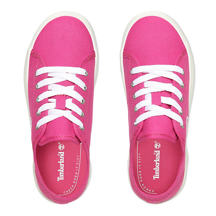 Newport Bay Canvas Oxford for Youth in Pink-