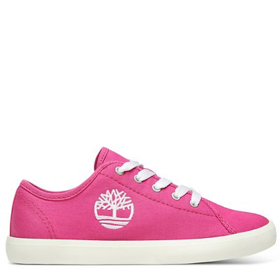 Newport+Bay+Canvas-Oxfordschuhe+f%C3%BCr+Kinder+in+Pink