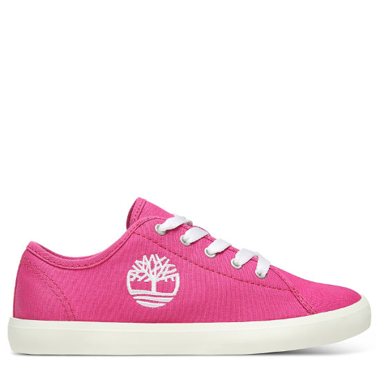 Newport Bay Canvas Oxford for Youth in Pink | Timberland