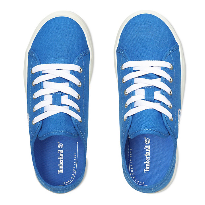 Newport Bay Canvas Oxford for Youth in Blue-