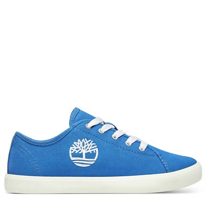 Newport+Bay+Canvas-Oxfordschuhe+f%C3%BCr+Kinder+in+Blau