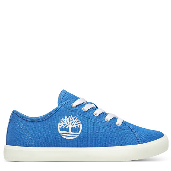 Newport Bay Canvas Oxford for Youth in Blue | Timberland