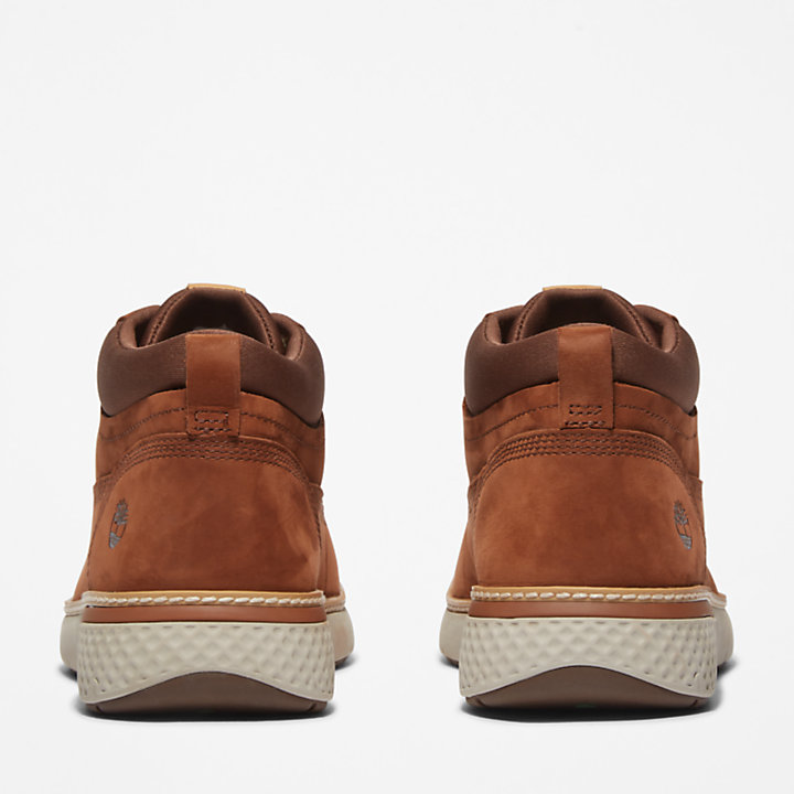 Cross Mark Chukka for Men in Brown-