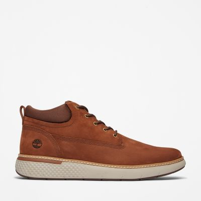 Chukka+%C3%A0+bout+%C3%A9pur%C3%A9+Cross+Mark+pour+homme+en+marron
