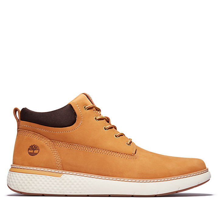 Cross Mark Chukka for Men in Yellow-