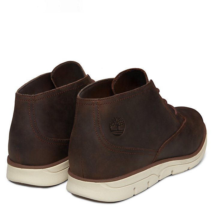 Bradstreet Plain Toe Chukka for Men in Dark Brown-