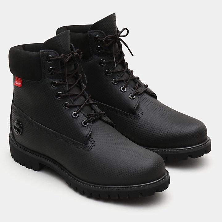 Bota 6-Inch Premium Helcor® para Hombre en Negro-