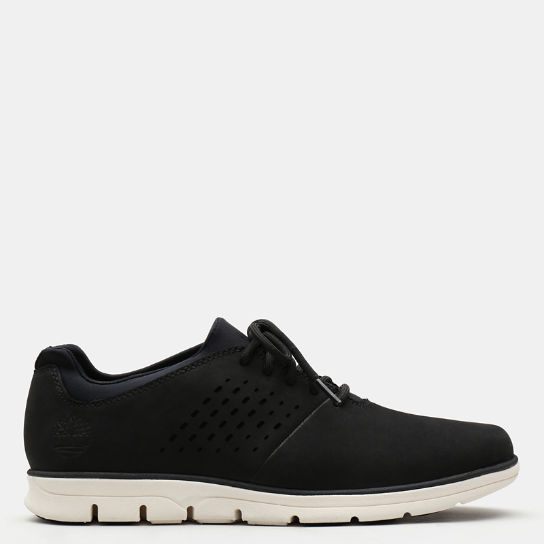 Bradstreet Perforated Oxford for Men in Black | Timberland