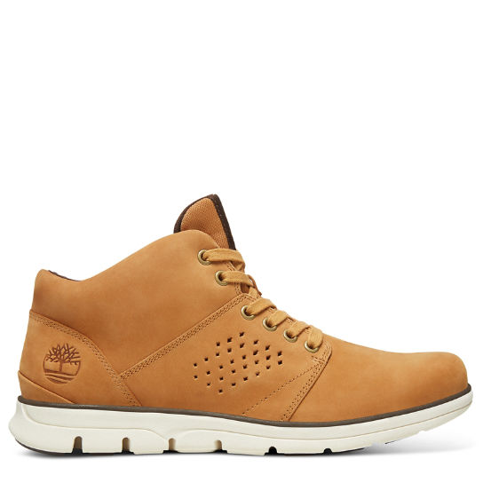 Bradstreet High-Top Sneaker for Men in Yellow | Timberland