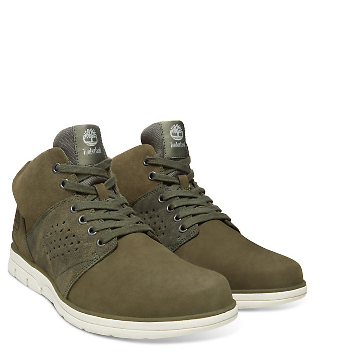 Bradstreet High-Top Sneaker for Men in Green-