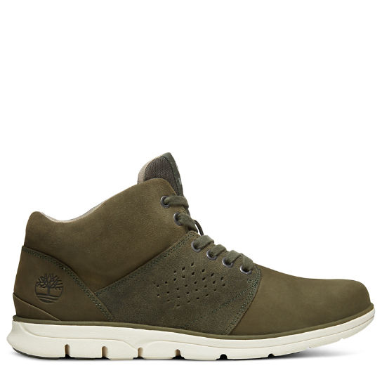 Bradstreet High-Top Sneaker for Men in Green | Timberland