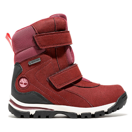 Youth Jiminy Peak Snow Boot Red | Timberland