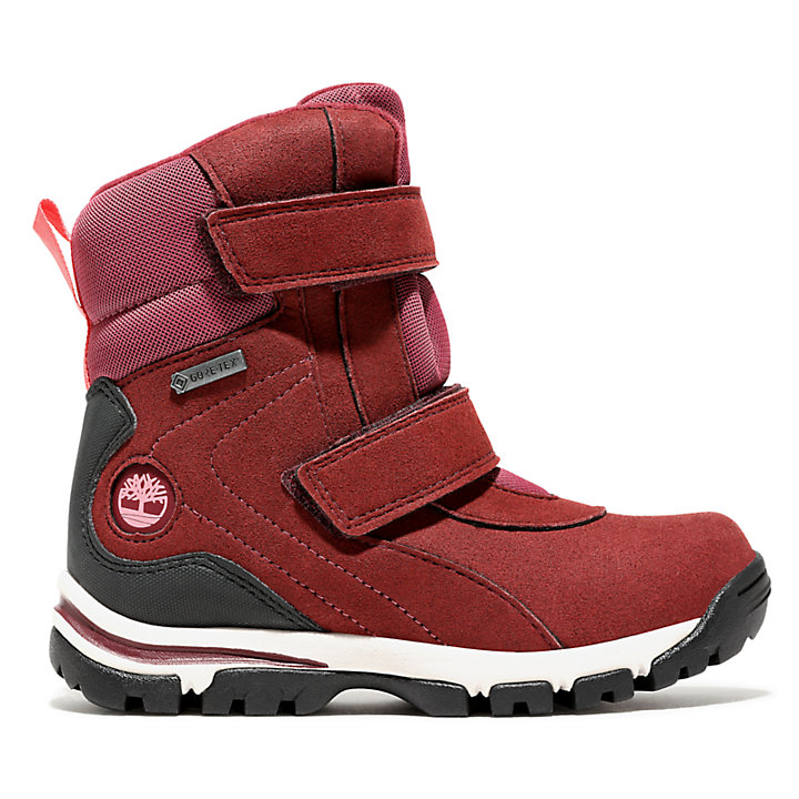 Youth Jiminy Peak Snow Boot Red-