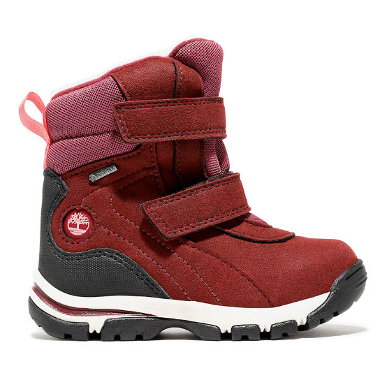 Toddler Jiminy Peak Snow Boot Red | Timberland