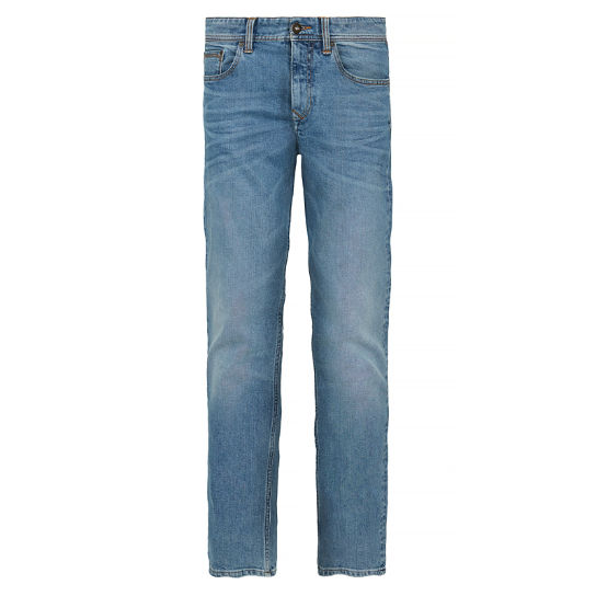 Herren Squam Lake Stretch Jeans Dunkelblau | Timberland