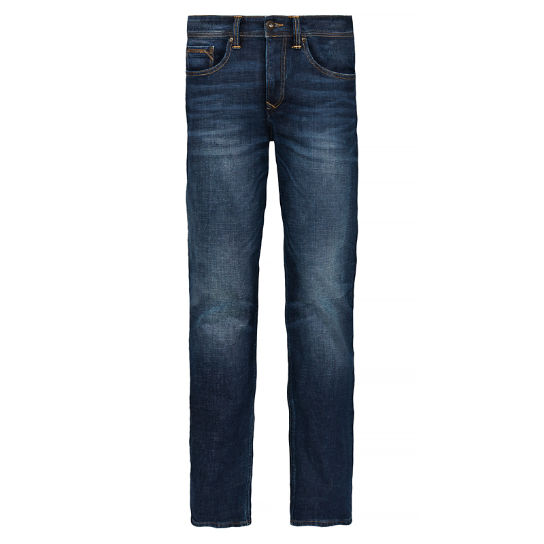 Squam Lake Stretch Jeans Hombre Añil | Timberland