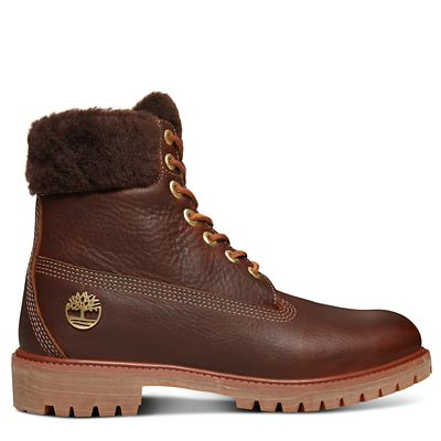 Premium+Shearling+6+Inch+Boot+for+Men+in+Brown