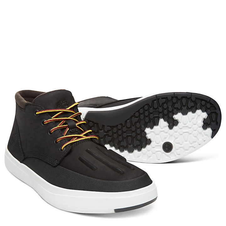 Sneaker da Uomo Davis Square Nera-